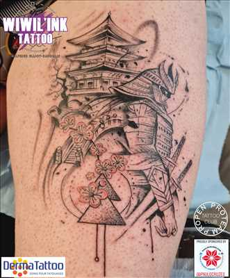 Exemple tatoueur n°149 zone Mayenne par Wiwil'Ink Tattoo