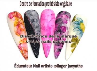 Photo manucure - onglerie n°350 à Reims par O'xess nails systems